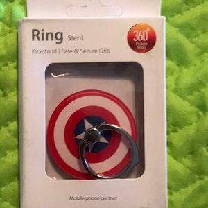 Other - Captain America phone kickstand